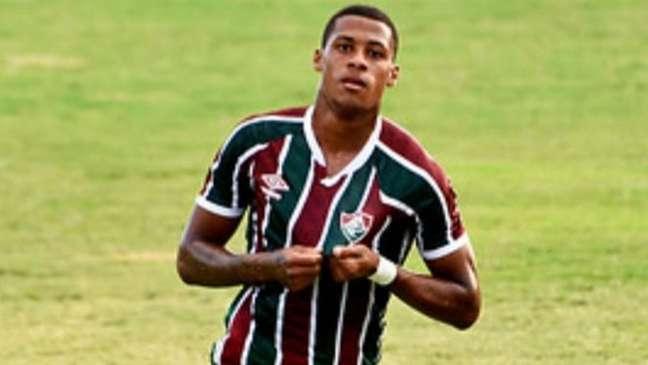 Gabriel Conceição marcou o gol do Fluminense no empate pela Taça Rio (Foto: Marcos Faria / Divulgação)