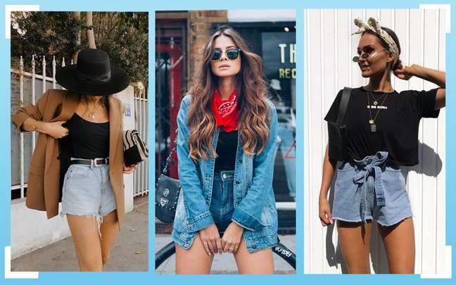 Looks com shorts jeans: 5 maneiras de combinar essa peça curinga