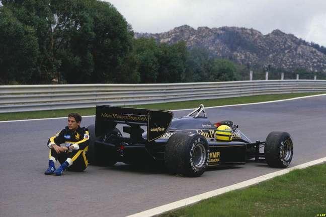 Senna na Lotus: três temporadas, seis vitórias e 16 poles, mas sem chances de ser campeão.