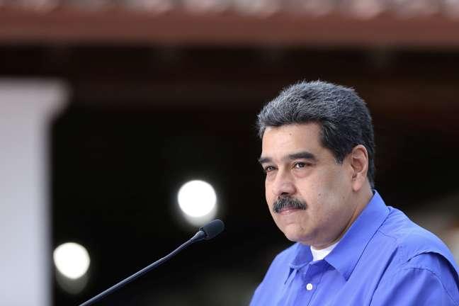 Presidente da Venezuela, Nicolás Maduro 22/06/2020 Palácio Miraflores/Divulgação via REUTERS