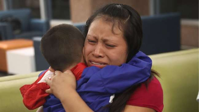 A separação de famílias imigrantes na fronteira dos EUA com o México durante o governo Trump causou indignação internacional.