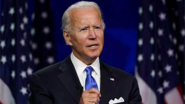 O candidato democrata Joe Biden espera receber muitos votos anti-Trump