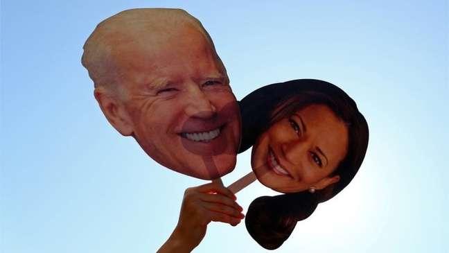 Joe Biden e Kamala Harris foram eleitos para comandarem os Estados Unidos pelos próximos quatro anos