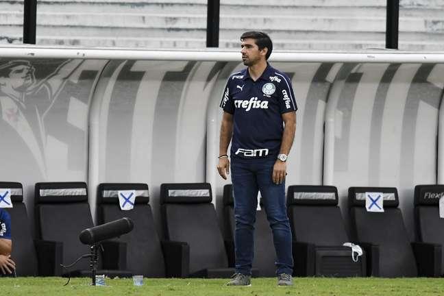 Abel Ferreira conseguiu a primeira vitória no Campeonato Brasileiro