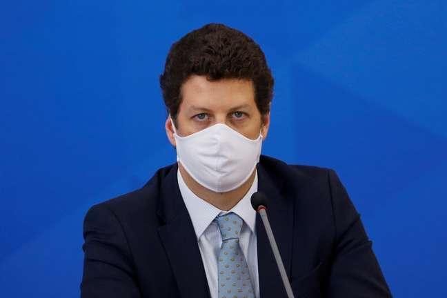 Ministro Ricardo Salles 09/07/2020 REUTERS/Adriano Machado