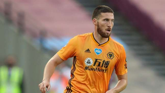 Doherty estava no Wolverhampton na última temporada (Foto: Divulgação / Site oficial do Wolverhampton)