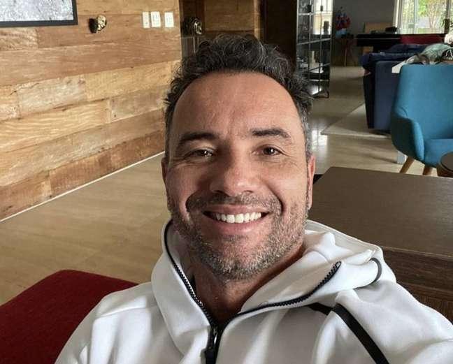 O ator e humorista Marco Luque, que contraiu o novo coronavírus