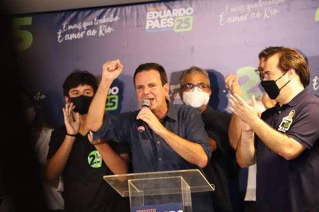 Eduardo Paes volta a ser prefeito do Rio de Janeiro