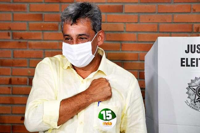 O candidato do MDB, Sebastião Melo, vence a eleição para prefeito na capital do Rio Grande do Sul