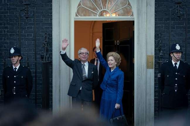 10 Downing Street, em Londres, serve como residência oficial e o escritório de quem ocupa a cadeira do Primeiro Ministro.