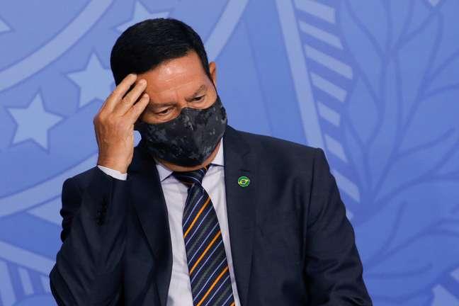 Vice-presidente Hamilton Mourão 16/09/2020 REUTERS/Adriano Machado
