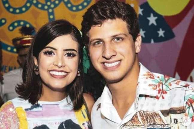 João Campos, prefeito eleito de Receife, e a namorada Tabata Amaral