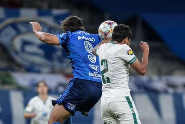 No jogo do primeiro turno, deu Coelho por 2 a 1, no Mineirão, que embalou na competição em seguida-(Bruno Haddad/Cruzeiro)