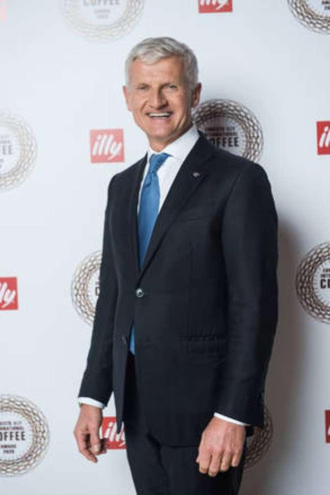 Andrea Illy, presidente da empresa italiana illycaffè