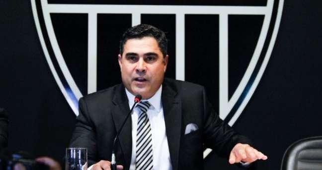 Sérgio Sette Câmara, presidente do Altético-MG, já havia feito troça com o Fla ao compartilhar uma zoação nas redes sociais- (Foto: Bruno Cantini/Atlético)