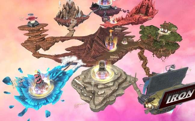 Mapa virtual da CCXP Worlds tem sistema de busca universal com tags para facilitar a navegação