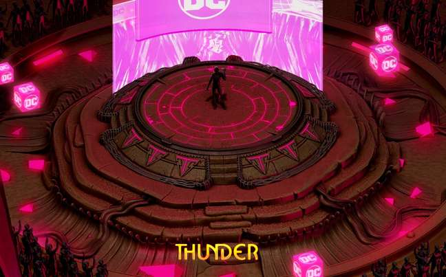 Como nos festivais presenciais, a Thunder Arena receberá as estrelas de Hollywood em painéis com novidades e bastidores de filmes e séries
