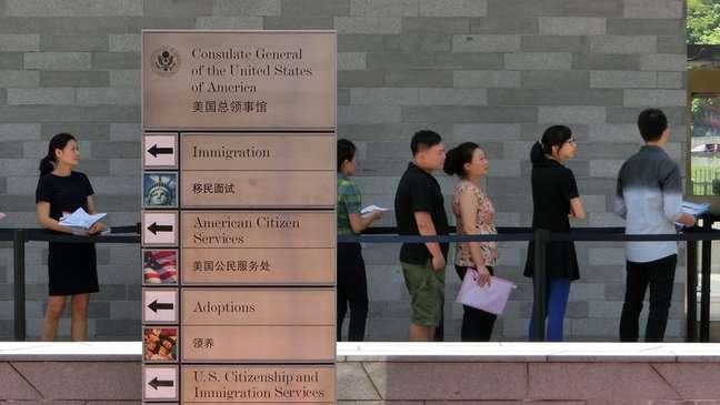 Funcionários do Consulado dos EUA em Guangzhou, China, também se queixaram de dores