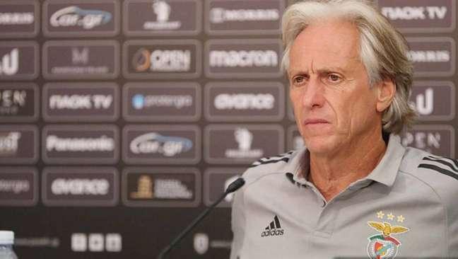 Jorge Jesus deu declaração infeliz sobre ato racista em jogo do PSG