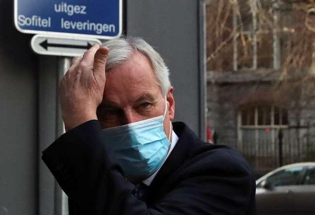 Negociador chefe da UE para o Brexit, Michel Barnier. REUTERS/Yves Herman
