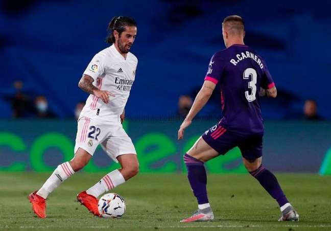 Isco atuou dez vezes pelo Real Madrid na atual temporada (Foto: Divulgação / Site oficial do Real Madrid)