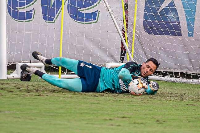 Diego Alves renovou o contrato com o Flamengo por mais um ano
