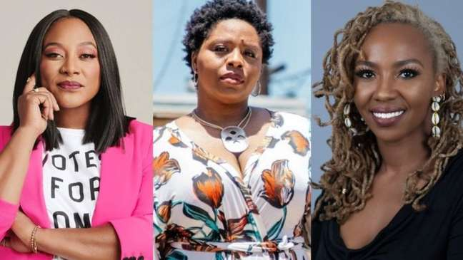 Alicia Garza, Patrisse Cullors e Opal Tometi tiveram a ideia do Black Lives Matter em 2013