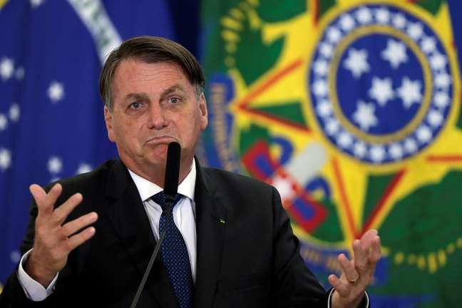Presidente Jair Bolsonaro durante cerimônia em Brasília 17/12/2020 REUTERS/Ueslei Marcelino