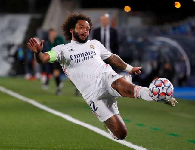 Marcelo tem contrato com o Real Madrid até junho de 2022 (Foto: Víctor Carretero / Real Madrid)