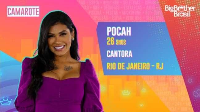 Pocah, cantora - 26 anos