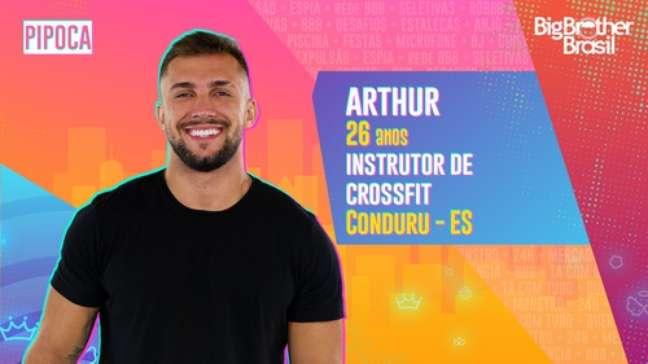Arthur, instrutor de crossfit - 26 anos