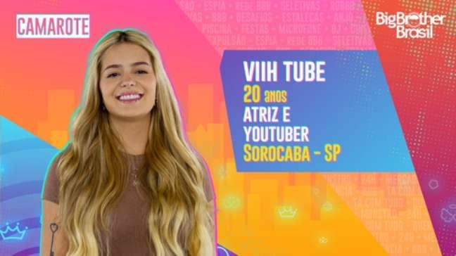 Viih Tube, atriz e youtuber - 20 anos