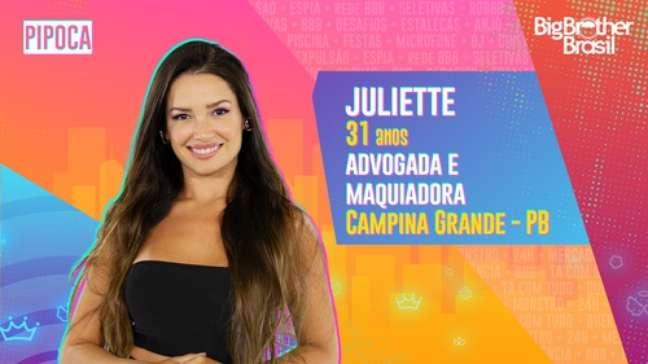 Juliete, advogada e maquiadora - 31 anos