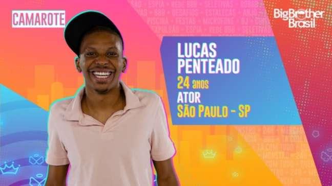 Lucas Penteado, ator - 24 anos