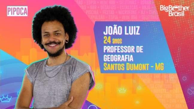 João Luiz, professor de geografia - 24 anos