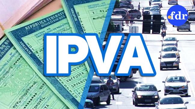 Valor do IPVA varia de acordo com a alíquota estadual e o modelo do automóvel.