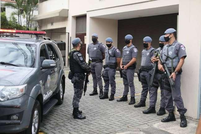 Grupo é composto por PMs de tropas de elite.