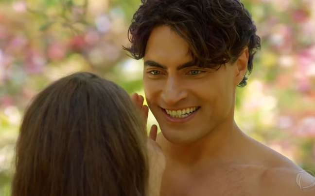 Adão (Carlo Porto) foi de príncipe do Paraíso a quase vilão após se revoltar contra Eva
