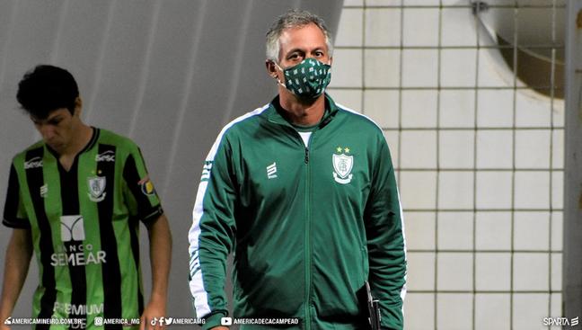 Lisca deixou o América-MG; time é o lanterninha do Brasileiro Foto: Divulgação/América-MG