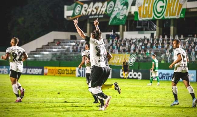 Ceará venceu o Goiás por 4 a 0 e pensa em competição internacional (Foto: Divulgação/Ceará)
