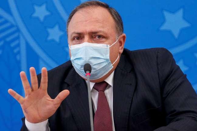 Ministro da Saúde, Eduardo Pazuello 07/01/2021 REUTERS/Adriano Machado