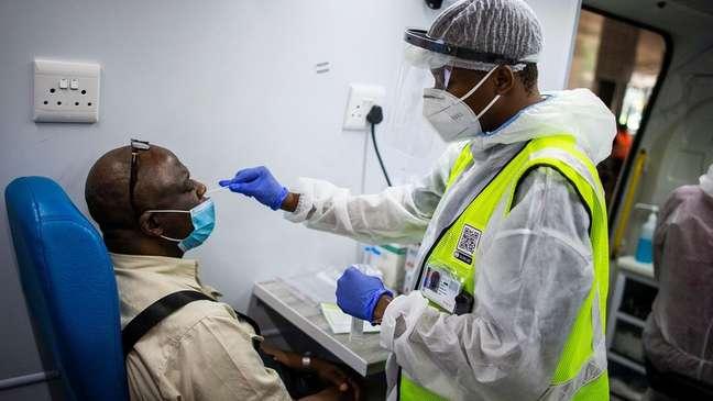 África do Sul tem o maior número de infecções na África