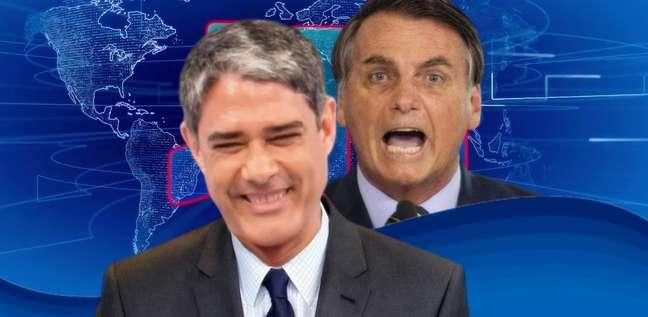 A seu modo, sem confronto direto, Bonner tem respondido aos ataques de Bolsonaro