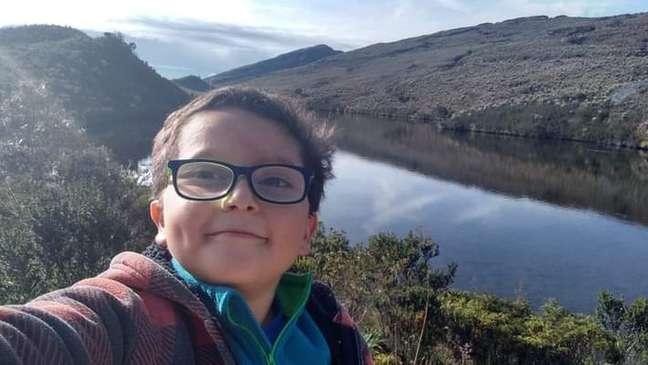 Colombiano Francisco Vera, 11, foi ameaçado depois de pedir um melhor acesso à educação durante a pandemia
