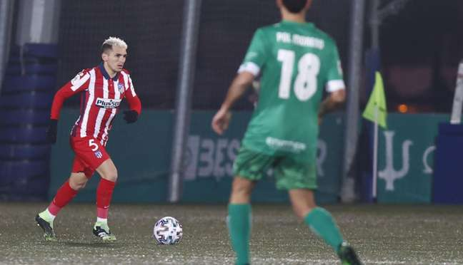 Torreira tem poucos minutos no Atlético de Madrid (Foto: Álex Marín / Atlético de Madrid)