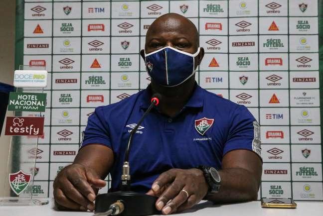 Marcão prepara Fluminense para enfrentar o Goiás (Foto: Divulgação/Fluminense)