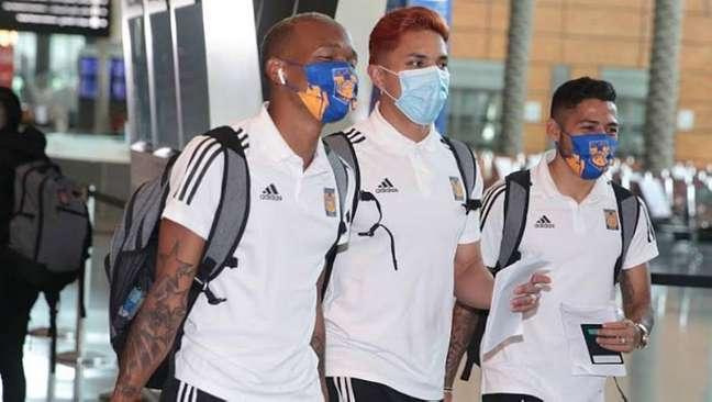 Tigres, do México, já chegou ao Catar para a disputa do Mundial de Clubes