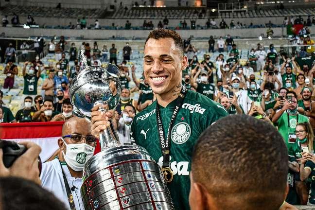 Breno Lopes marcou o gol da vitória do Palmeiras na final da Libertadores