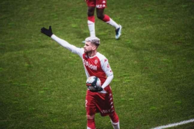 Caio Henrique tem se destacado com o Monaco(Divulgação)