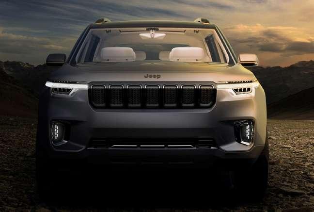 Jeep Commander: design ainda é segredo.